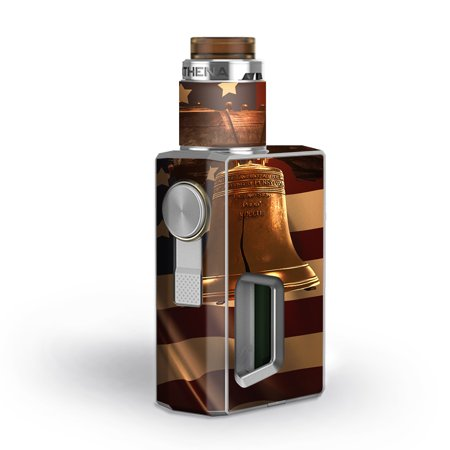 Engraved Liberty Bell (Skin Decal for GeekVape Athena Squonk Vape / Liberty Bell America Strong)