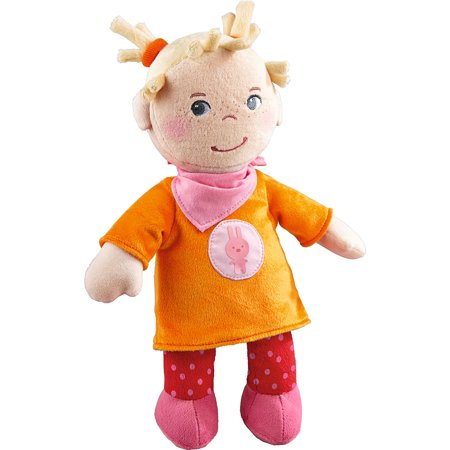 Snug Up Doll Thea   11 5  Soft Doll With Embroidered Face And Blonde Hair   Machine Washable For Babies 6 Months    Snug Up Thea Has A Soft    By Haba Usa