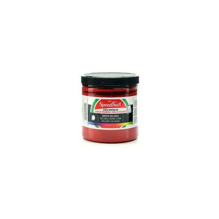 Speedball Water Soluble Screen Printing Ink (Red) (2 Units Included)
