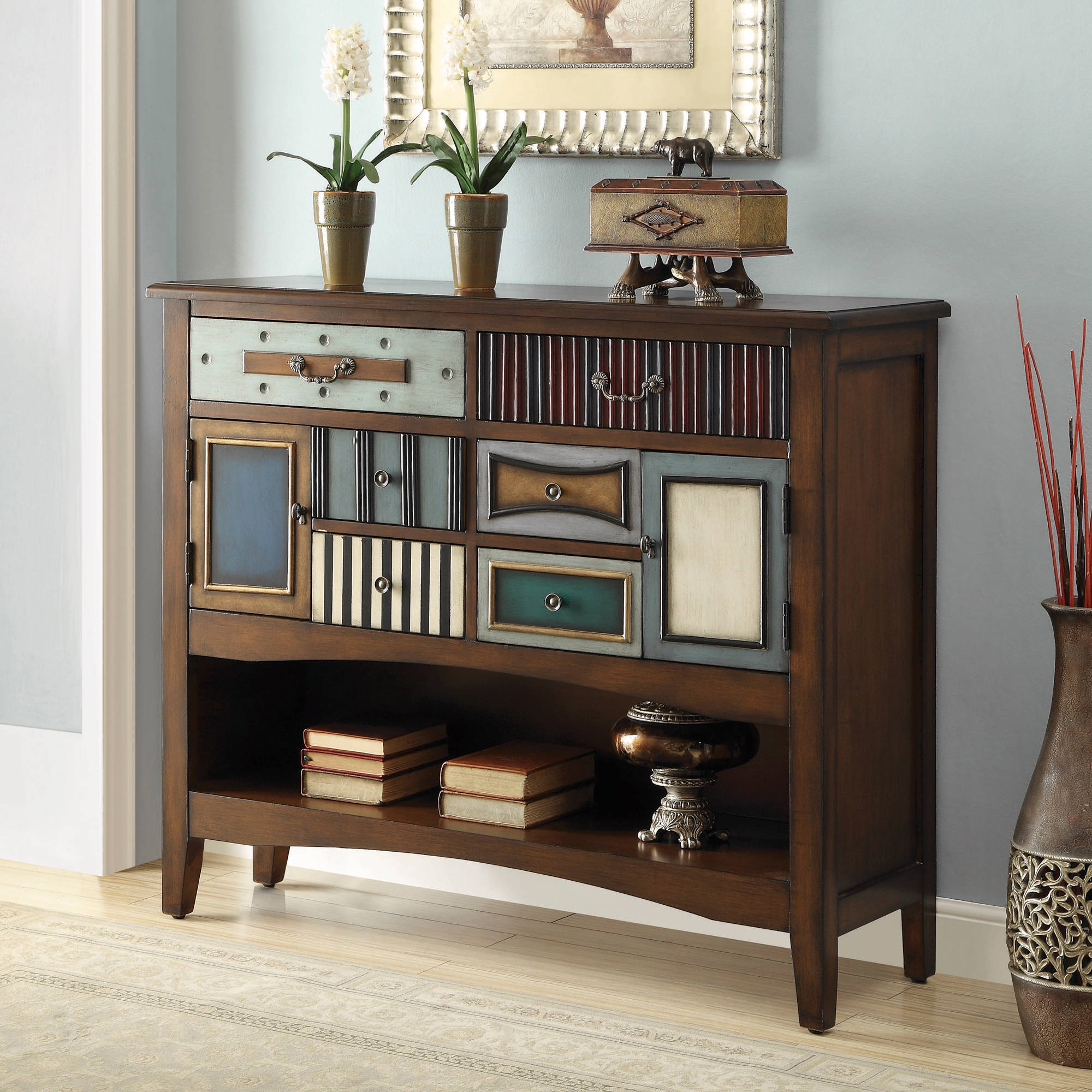 Coaster Brown Accent Cabinet