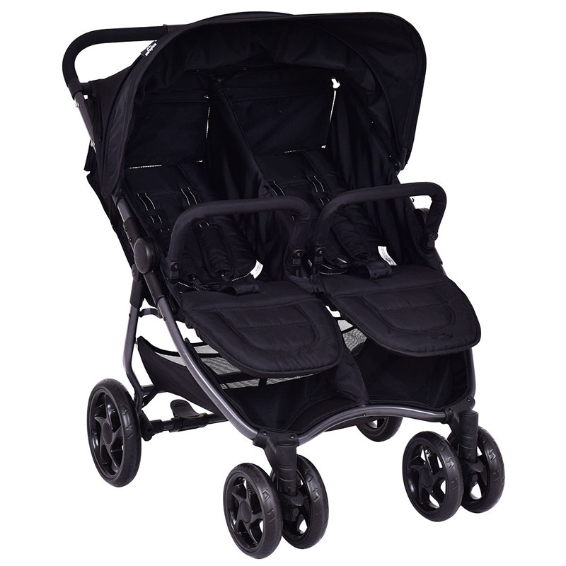 Gymax Foldable Double Twin Baby Infant Travel Stroller