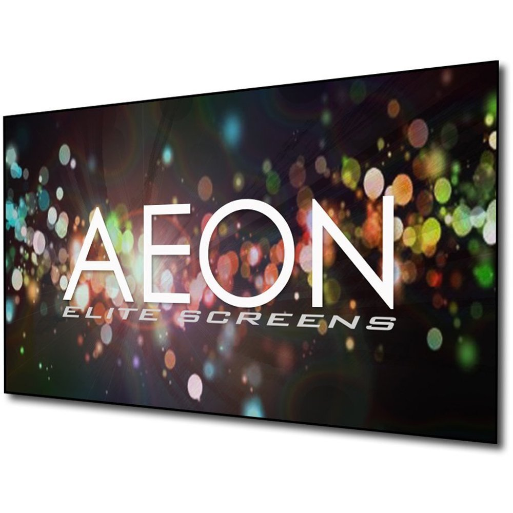 New EliteScreens Aeon 125-inch 4K Home Theater Fixed Frame EDGE AR125WH2-WIDE