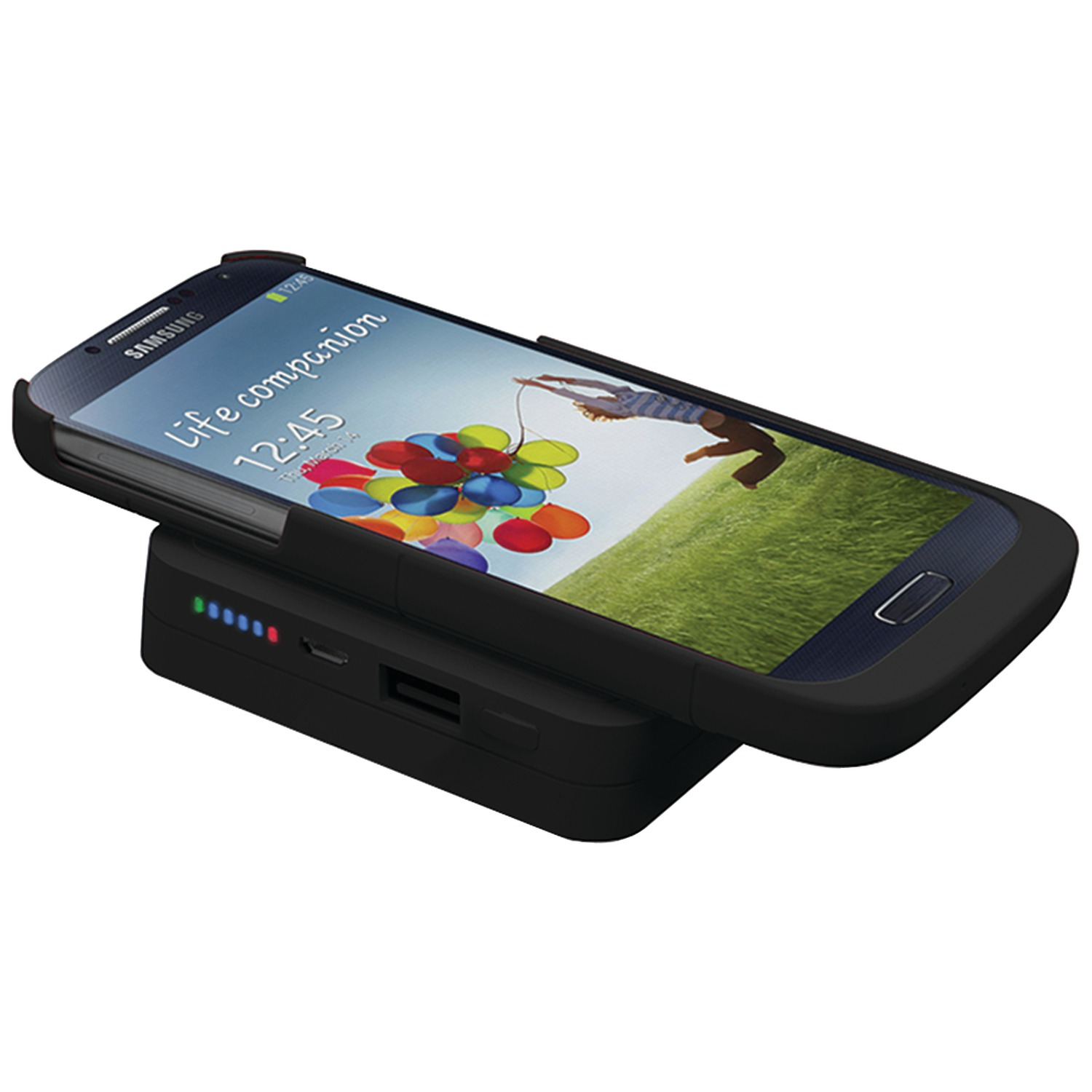 TRIDENT CASE BD-QIPB6K-BKGS4 Samsung Galaxy S 4 Electra Qi Power Base 6000 Bundle