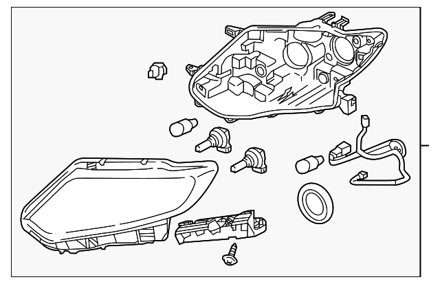 Genuine Oe Nissan Composite Assembly 26010 4ba2a