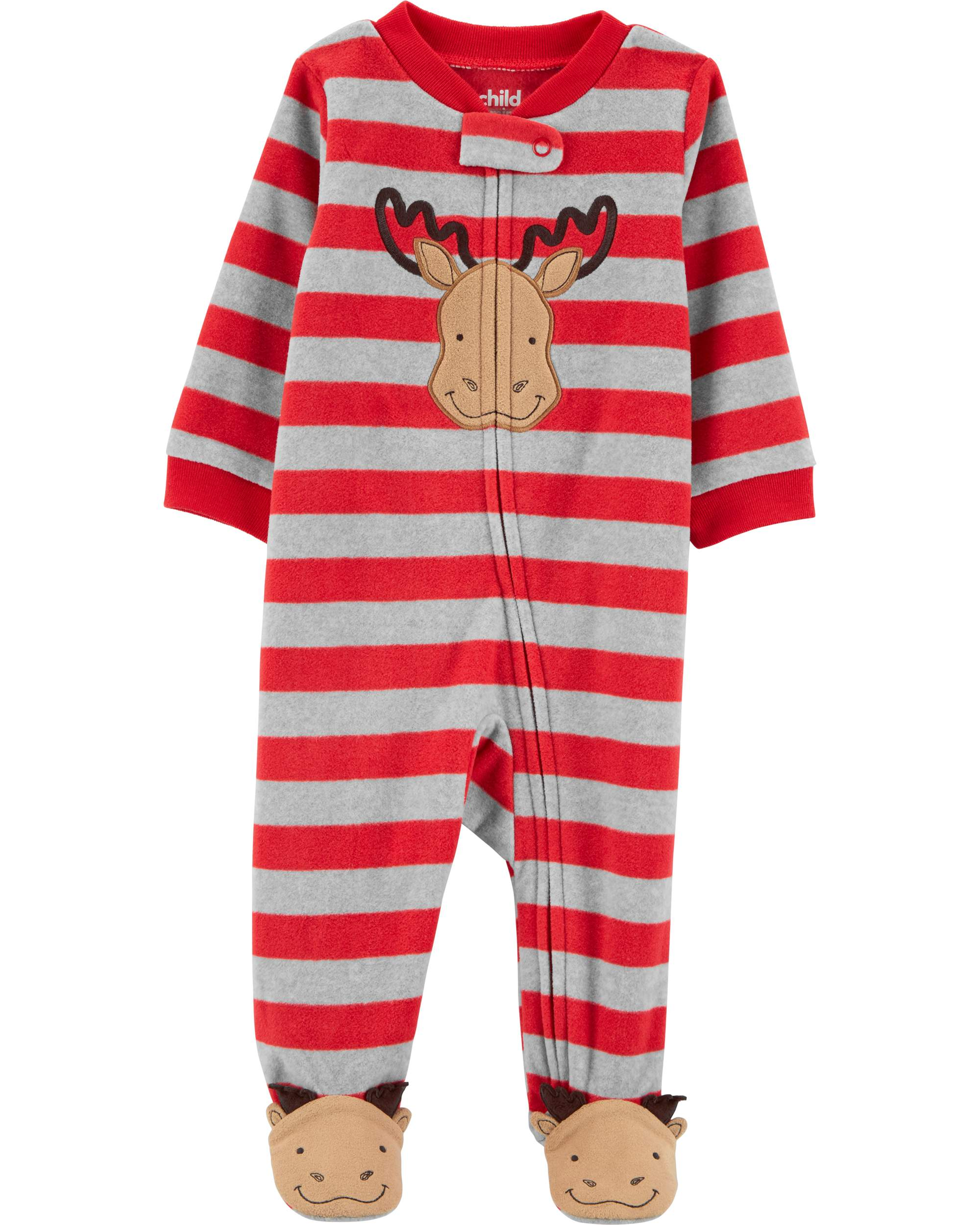 Christmas Sleep N' Play Pajamas (Baby Boys)
