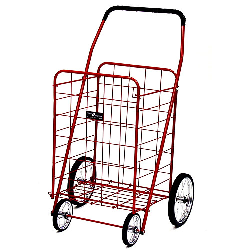 Narita Jumbo Shopping Cart, Red