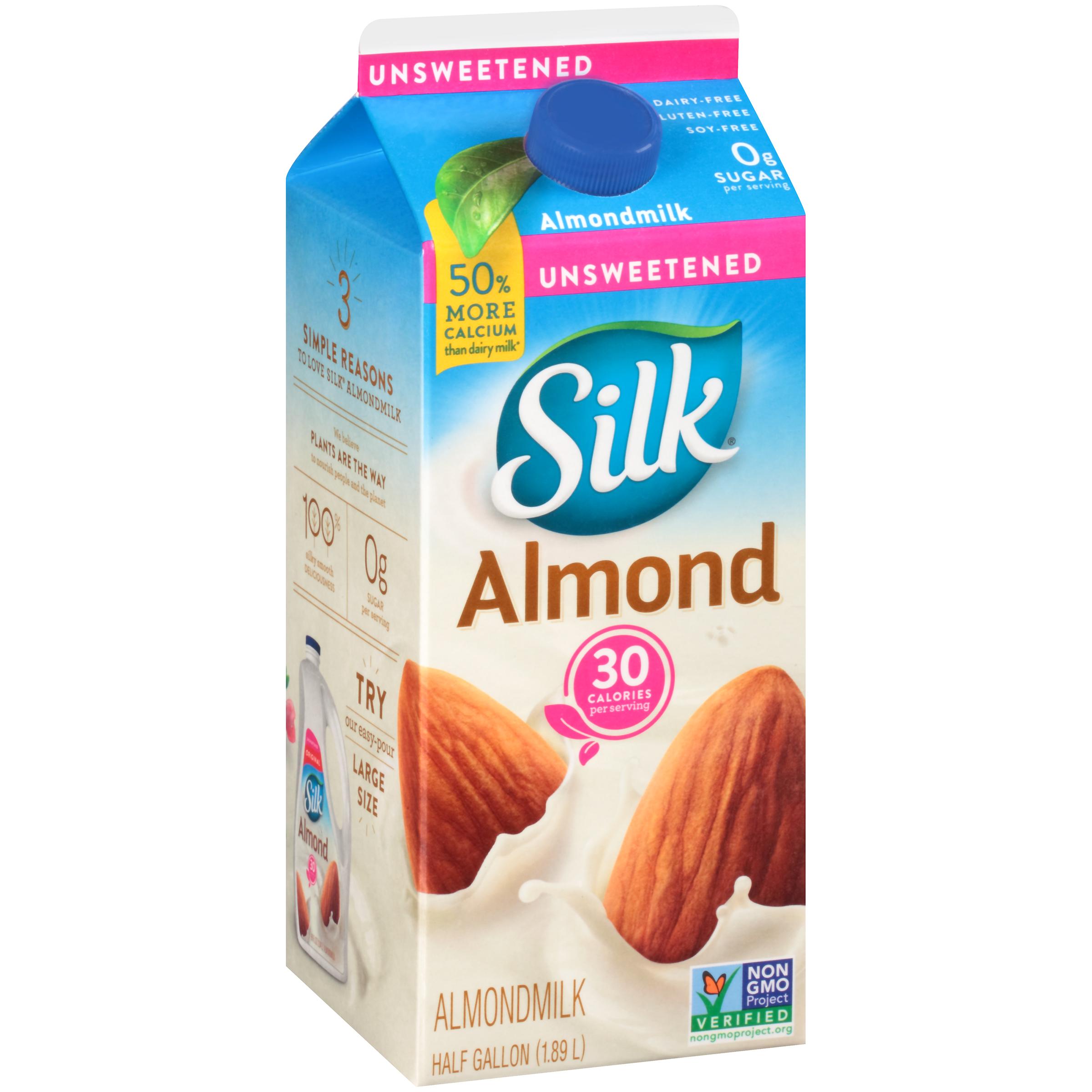 Where to buy unsweetened almond milk
