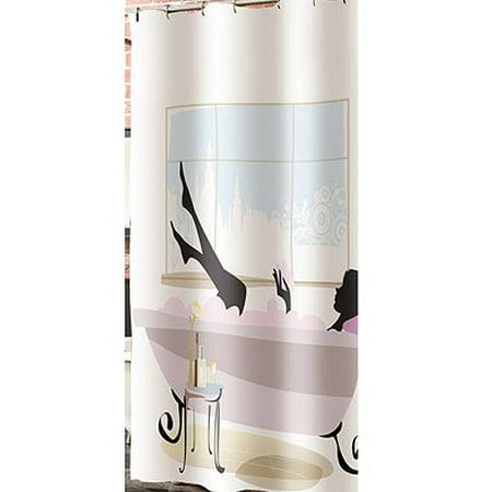 Veratex Inc Spa Girl Shower Curtain