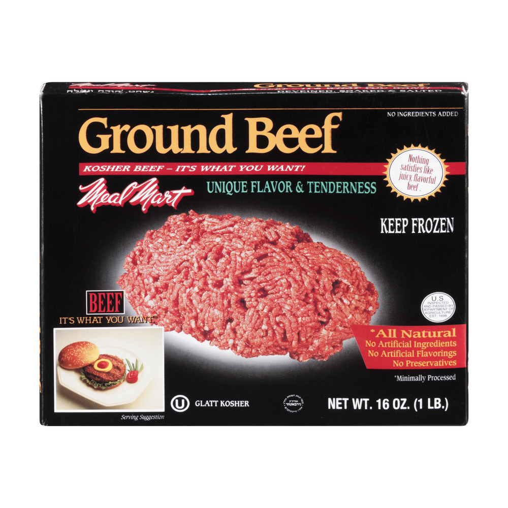 Meal Mart Ground Beef, 16.0 OZ