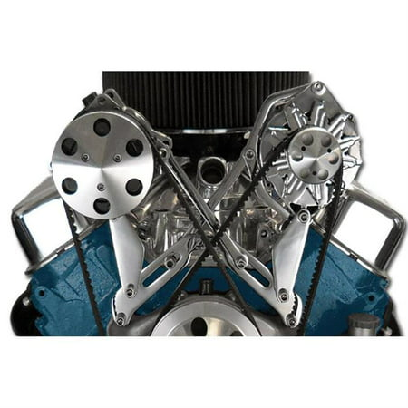 Bills Hot Rod Brackets - Bills Hot Rod Co.400 Series BBC A/C Compressor Bracket