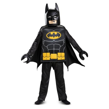 Boys Deluxe LEGO Batman Costume (Female Batman)