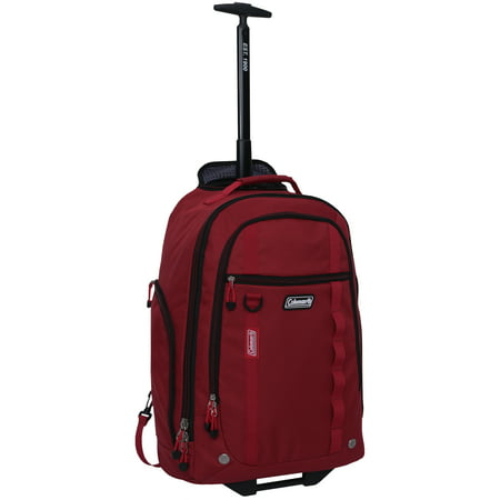 48f5ac359558 Coleman - 22 Rolling Travel Backpack w  Telescopic Handle