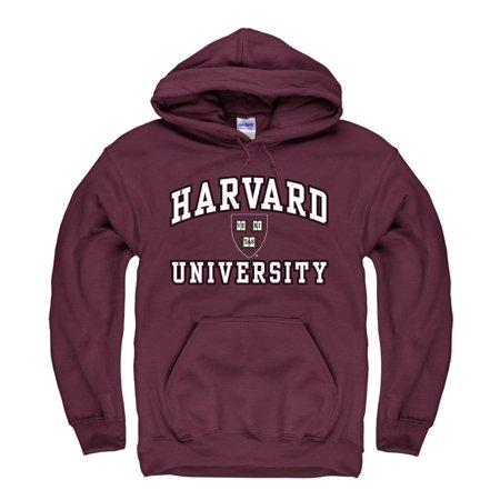 Harvard University Men's Hoodie Sweatshirt-Maroon (Distance From New York To Harvard University)