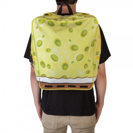 Backpack - Spongebob - Suit Up W/ Removable Tie New Licensed - Spongebob Gorilla Suit