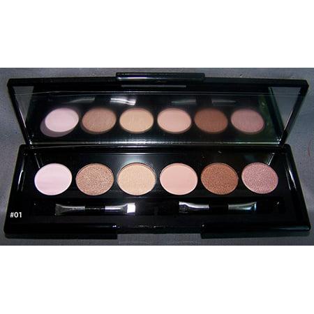 Quality Cosmetics  Makeup Eye Shadow Natural Smokey  Eye Shadow 6 color Palette (COSES9-01  ZZ)](Black Smokey Eye Halloween Makeup)
