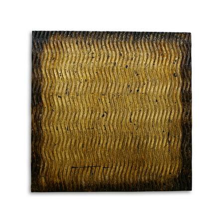 Art Screen (Screen Gems Metallic Pattern Brown Wall Art SGWB-85 )