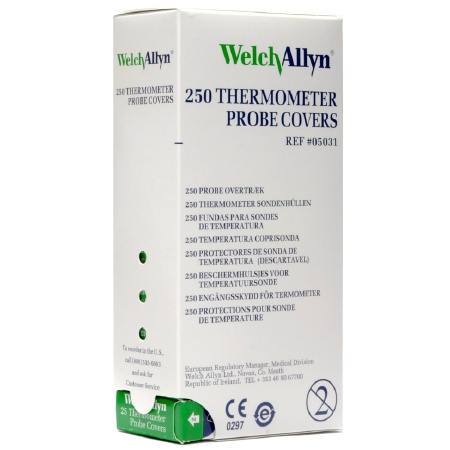 SureTemp Thermometer Probe Cover for 678, 679, 690, 692, BX 250 2 Pack by Welch Allyn