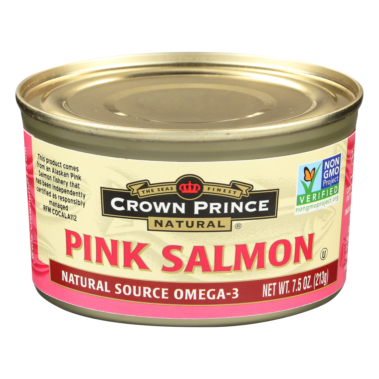 Crown Prince Alaskan Pink Salmon Case of 12 7.5 oz. by