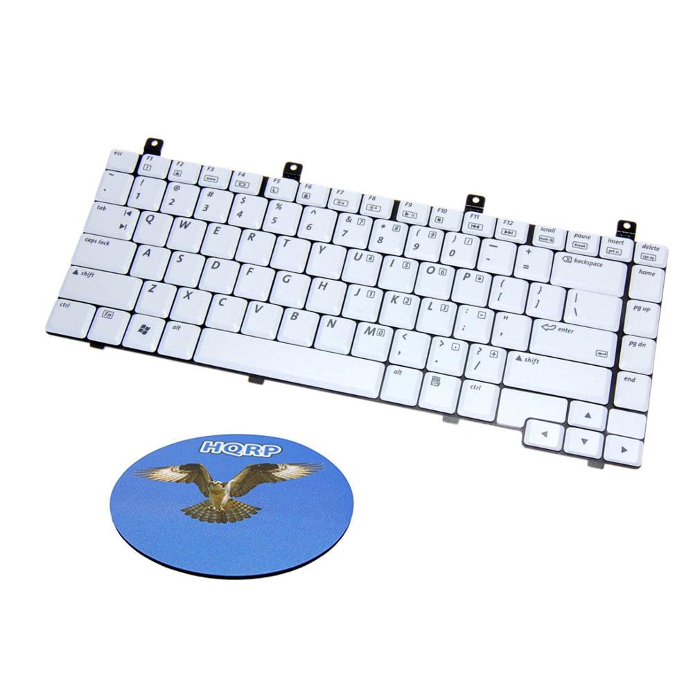 HQRP Laptop Keyboard for pk13zz77300 HP Compaq Presario V2000 V2100 V2200 V2300 V2400 V2600 V5000 Series Notebook / Laptop Replacement + HQRP Coaster