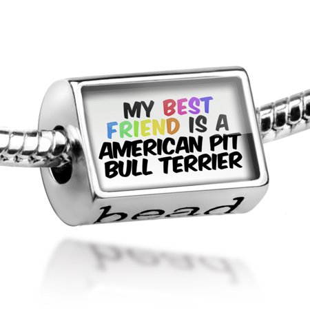 Bead My best Friend a American Pit Bull Terrier Dog from United States Charm Fits All European