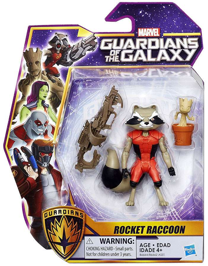 Marvel Guardians of the Galaxy 6-inch Rocket Raccoon by Hasbro