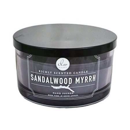 Myrrh Scented Candle (Decoware Richly Scented Sandalwood Myrrh 3-wick Candle in Glass 12.82 Oz )