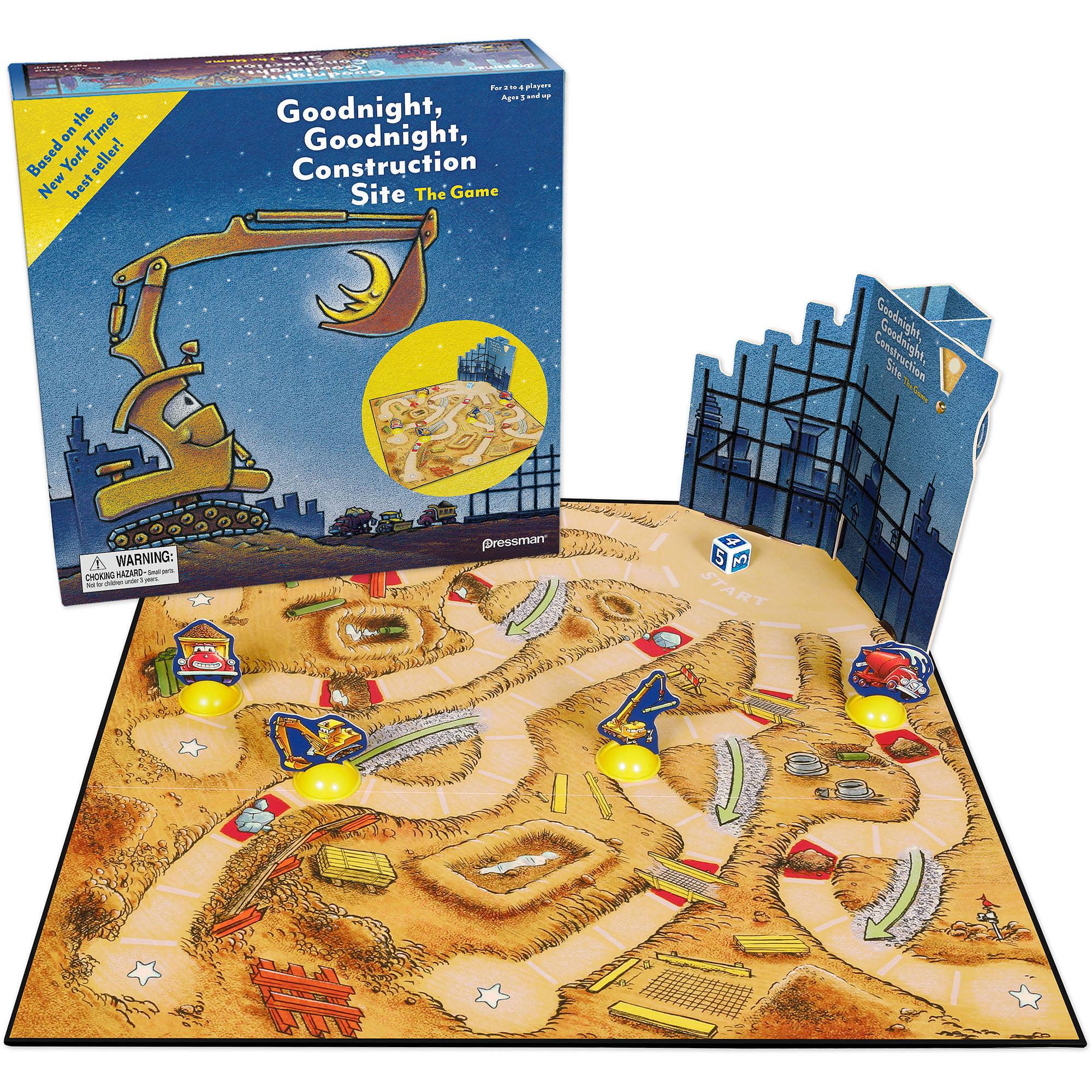 Pressman Toy Goodnight, Goodnight Construction Site Game