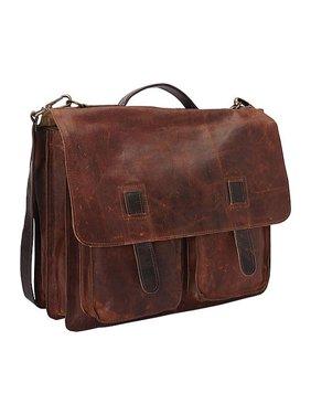 Sharo Executive Brief and Messenger Bag