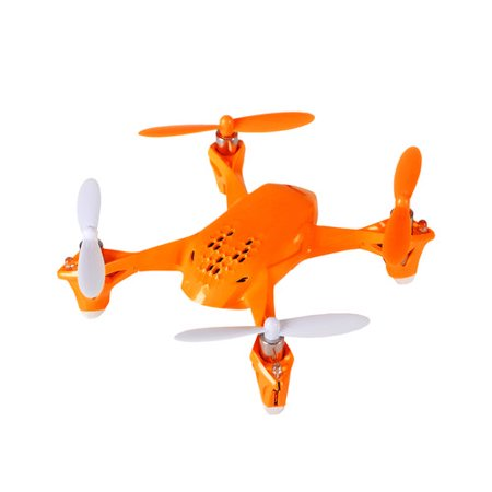 Buy Now Hubsan H108 Orange 2.4GHz 4-Channel RC Quadcopter Flying Drone Before Special Offer Ends