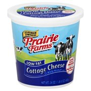 Prairie Farms Low Fat 2% Cottage Cheese, 24 Oz.