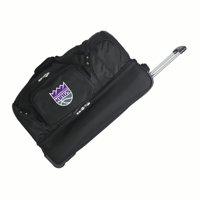 "Sacramento Kings 27"" 2-Wheel Rolling Drop Bottom Duffel Bag - Black - No Size"