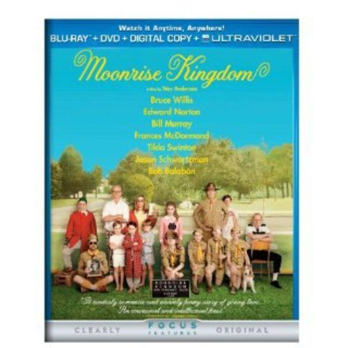 Moonrise Kingdom (Blu-ray + DVD + Digital Copy) (With INSTAWATCH) (Widescreen)