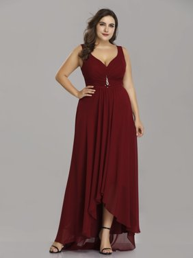 b2548b77962 Product Image Ever-Pretty Womens Vintage Chiffon High Low Long Evening  Party Mother of the Bride Maxi
