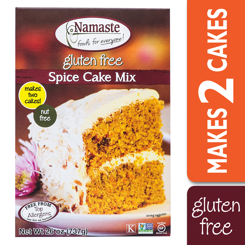 Namaste Foods Spice /& Carrot Cake Mix 26 oz Pkg