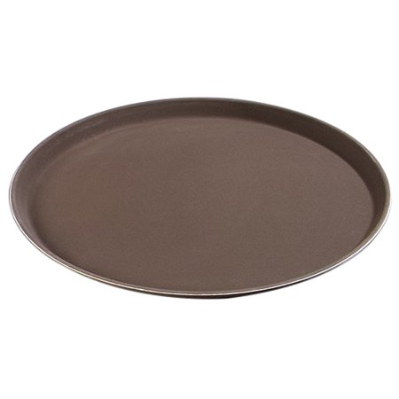 Carlisle GripLite Non Skid Round Foodservice Tray Tan, 0.76