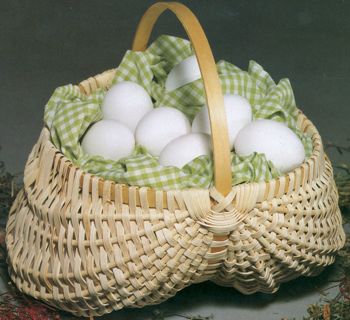 "Blue Ridge Basket Kits, Egg Basket, 7"" x 7"""