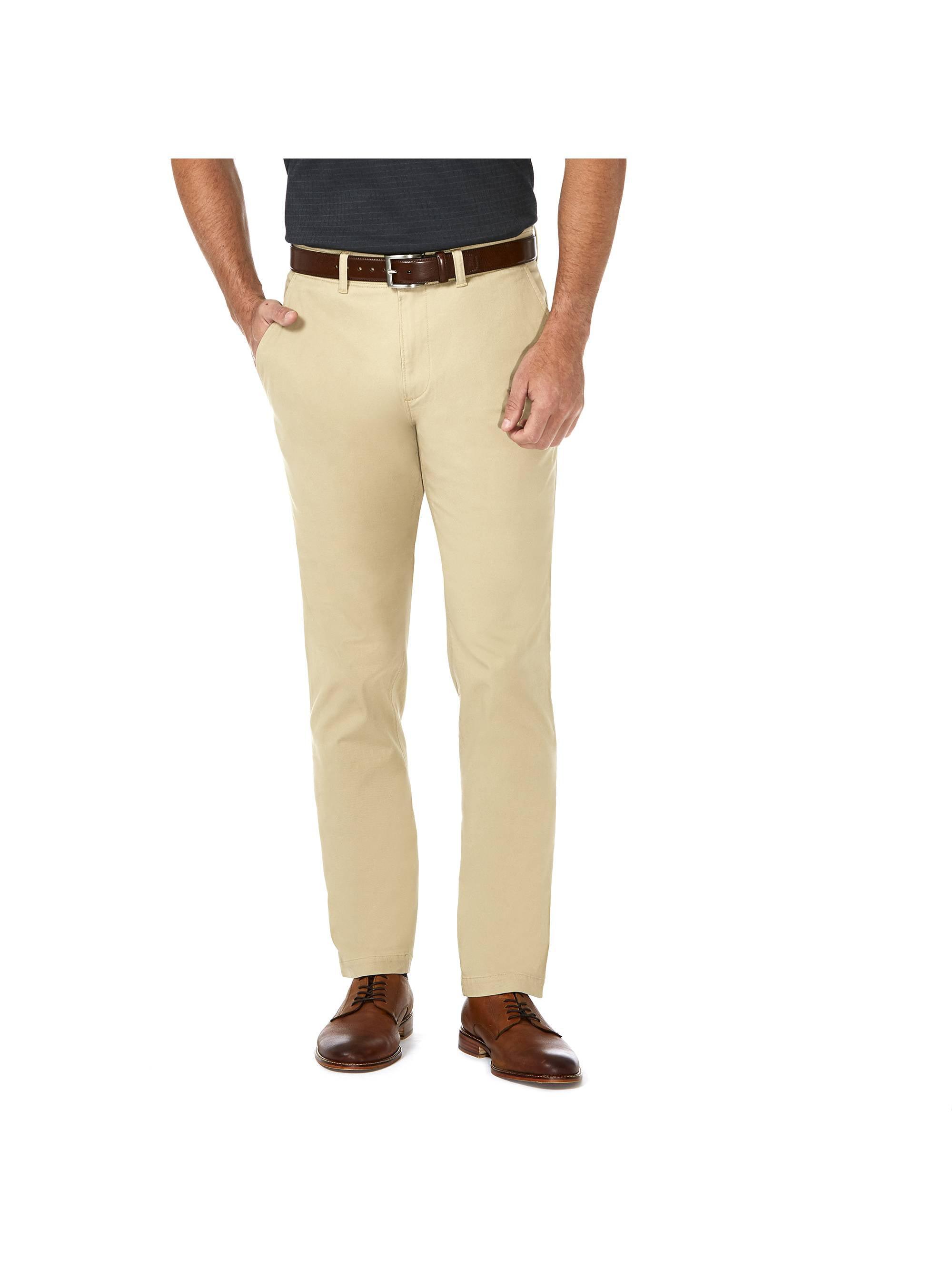 Men's Coastal Comfort Flat Front Chino Pant Slim Fit HC00222