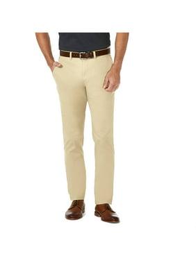 Haggar Men's Coastal Comfort Flat Front Chino Pant Slim Fit HC00222