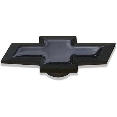 141339 Large Chevy Bowtie Air Cleaner Nut, Black Crinkle - image 1 of 1