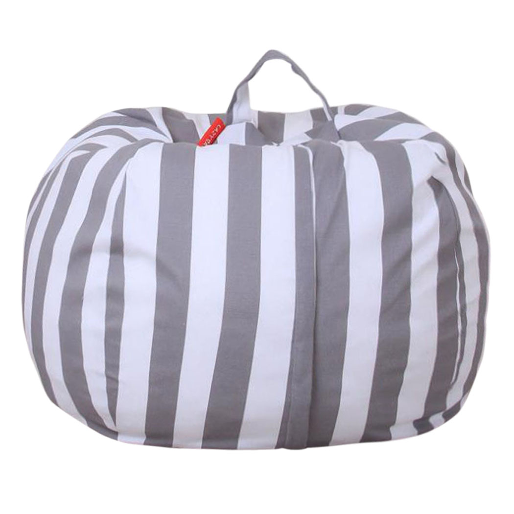 Toy Storage Bag, Outgeek Large Capacity Canvas Toy Bag To...