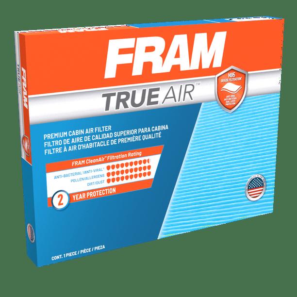 Fram Cv10134 Trueair Premium Cabin Air Filter With N95 Grade Filter Media For Select Honda Vehicles Walmart Com