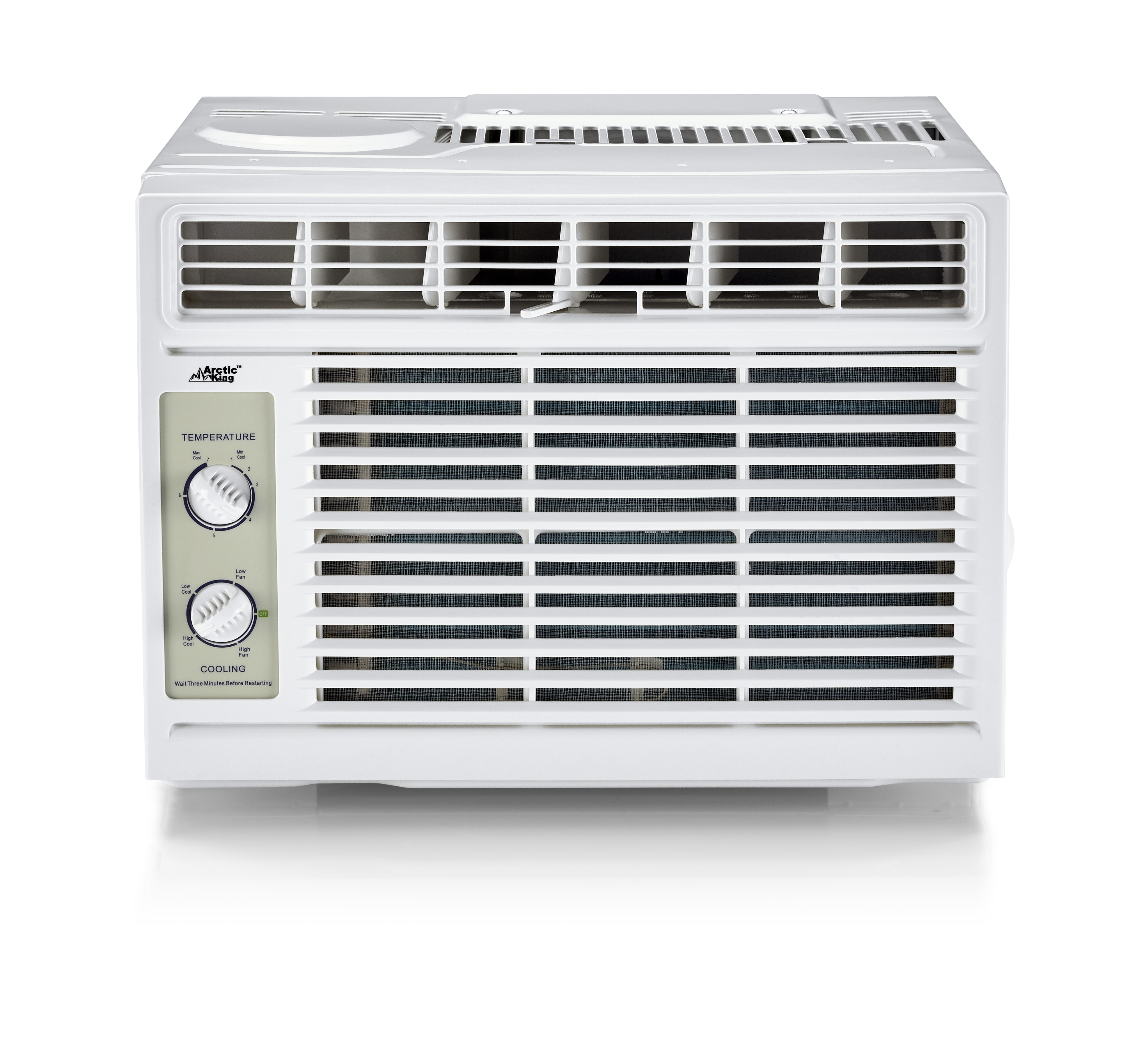 Arctic King 5,000Btu Mechanical Window Air Conditioner, White WWK05CM81N