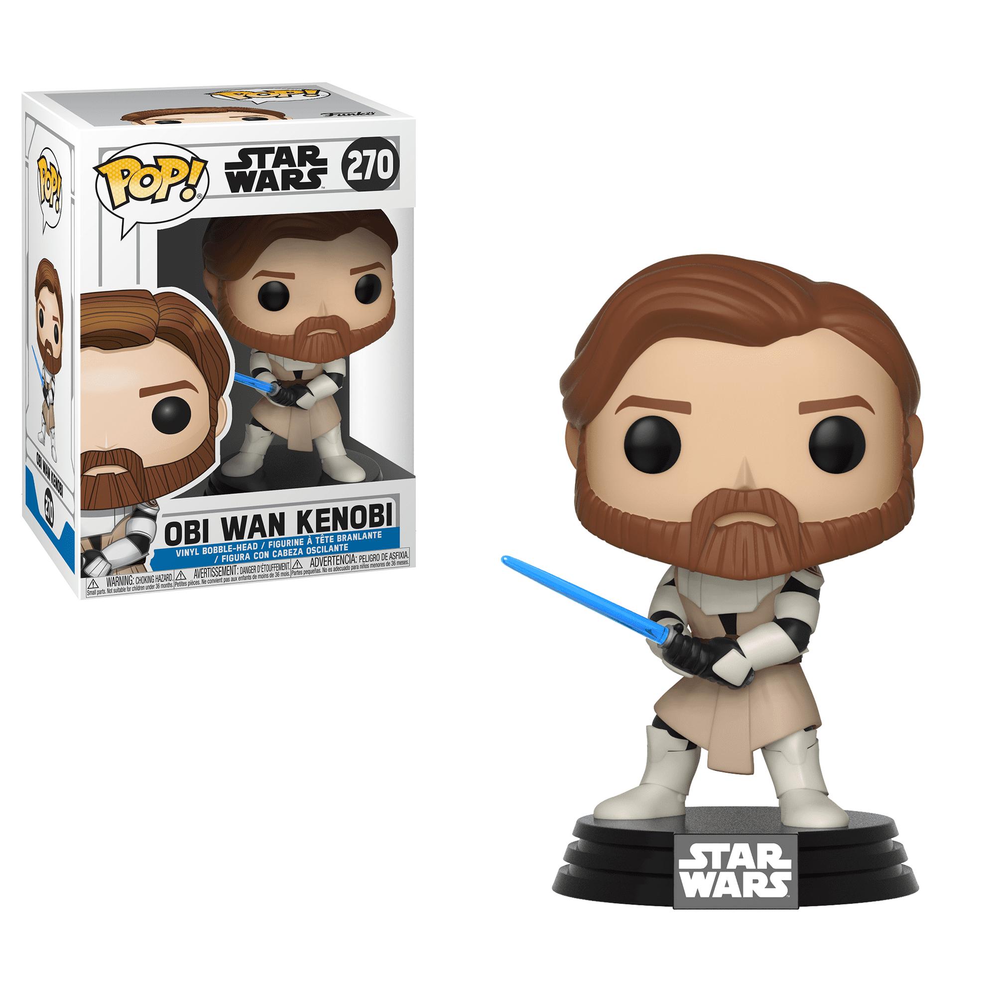 Funko POP Star Wars: Clone Wars - Obi Wan Kenobi