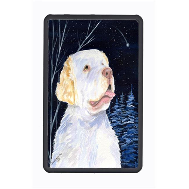 Carolines Treasures SS8356KFC Starry Night Clumber Spaniel Kindle Fire Snap on Case