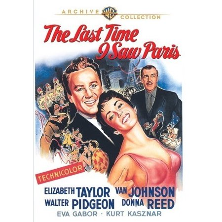 The Last Time I Saw Paris (DVD)