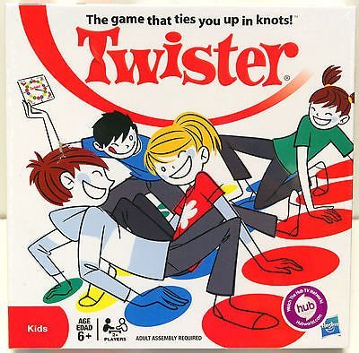 Twister Game By , 2009 Box Art Edtion, By Hasbro by