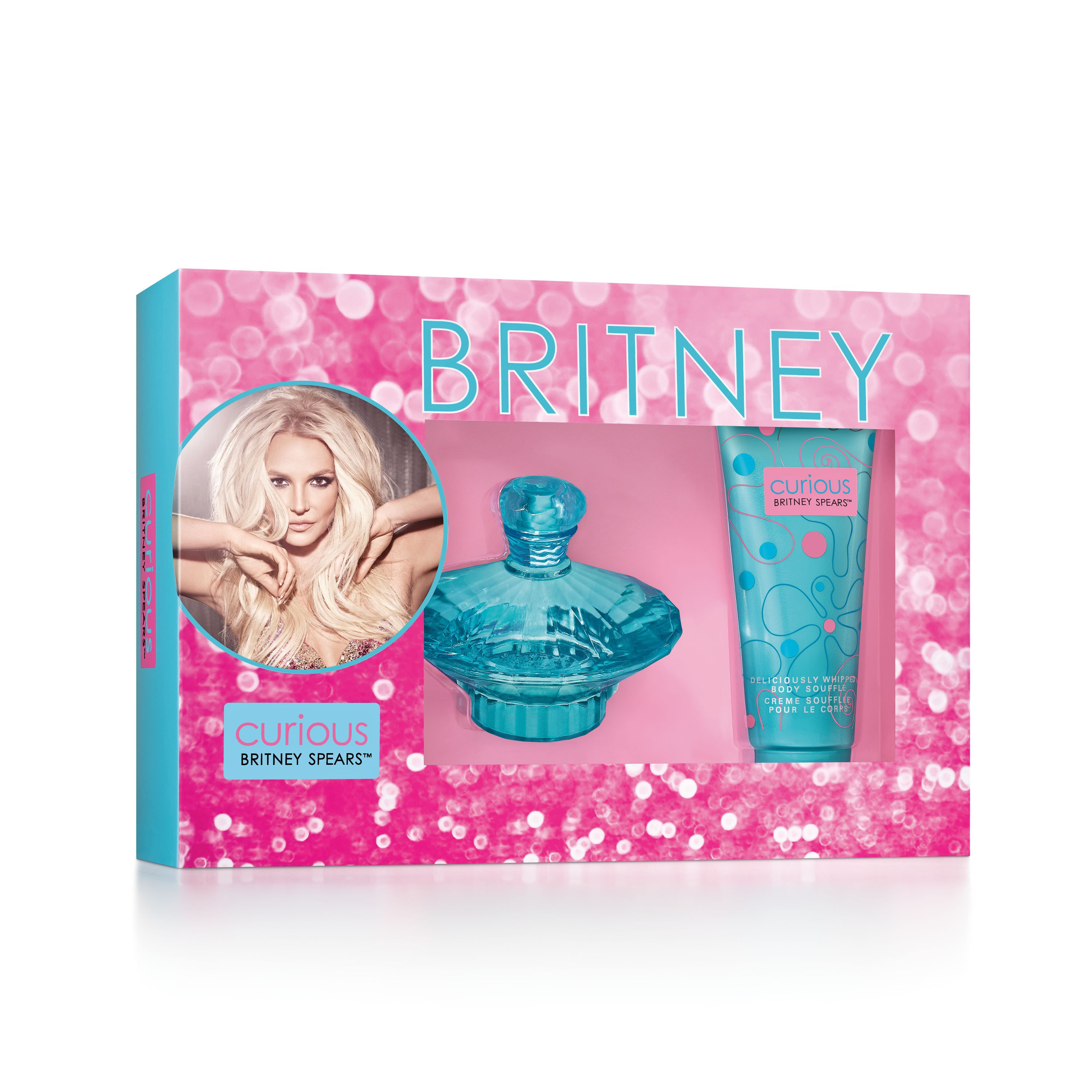 Britney Spears Curious Fragrance Gift Set for Women, 2 piece