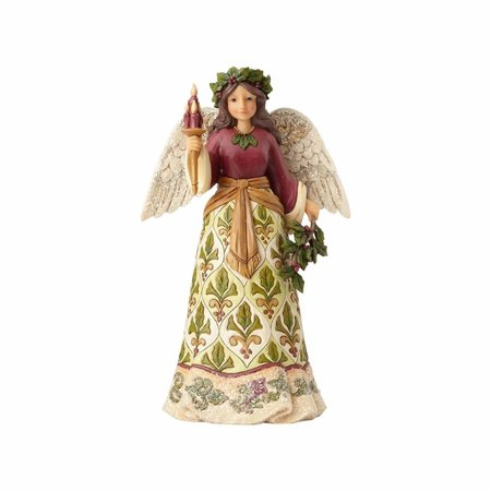 Jim Shore Heartwood Creek 4058755 Victorian Angel with Candle 2017
