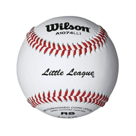 Wilson Little League Raised Seam Baseball 12 Pack