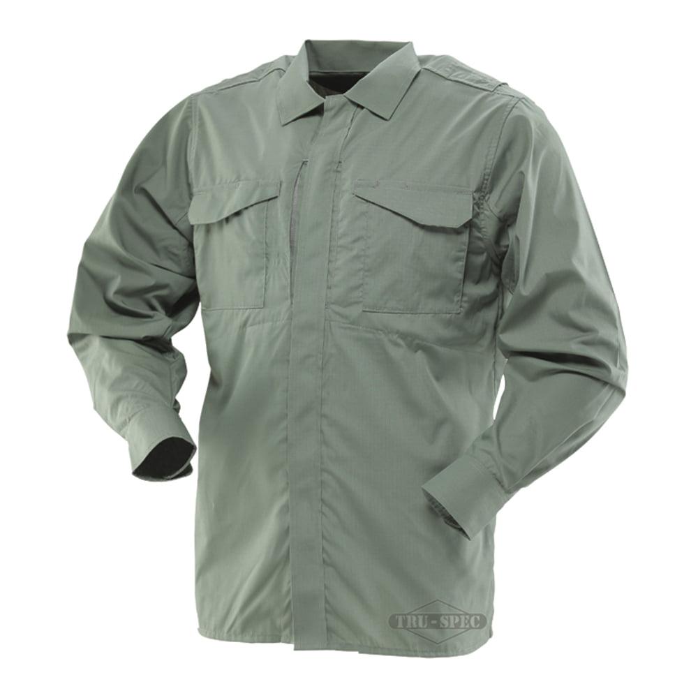 Tru-Spec 24-7 Series Ultralight Long Sleeve Uniform Shirt Olive Drab X-Large